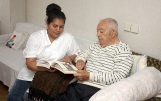 assistenza anziani depressi